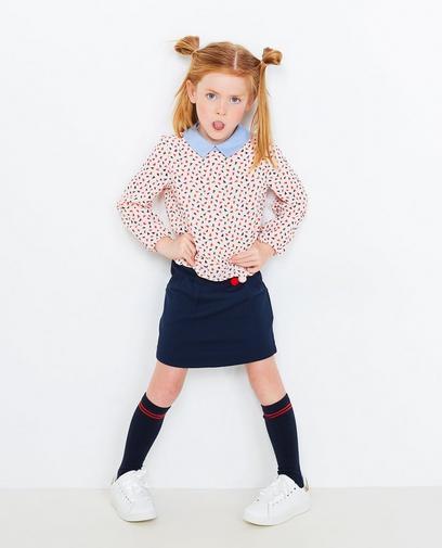 Lichtroze blouse